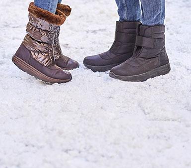 Çizme dimërore për dy gjinitë